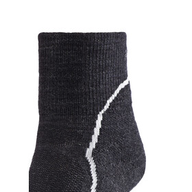 Icebreaker Hike+ Light Mini - Calcetines Mujer - gris/negro